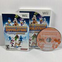Dance Dance Revolution: Disney Grooves (Nintendo Wii, 2009) Complete Tested CIB