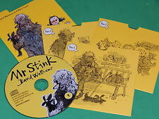 MR STINK Written and Read  by DAVID WALLIAMS on 3 AUDIO CDs NEW