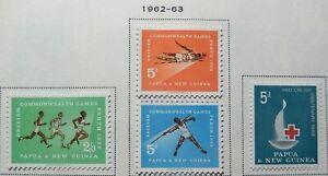 Papua Scott #171-174, 184-205, 5 Sets, Mint Original Gum (HR)