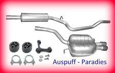 Abgasanlage Auspuff VW Passat 3C 2.0 TDi Typ 3C2/5 110 - 140PS ab Bj.03/05 + Kit