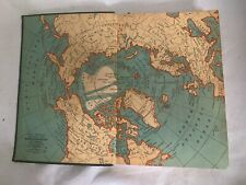 Vintage Standard Atlas And Gazetteer Of The World Literary Digest 1934 Bodmer