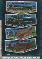 Got at 2018 NOAC: (4) Flap Set: Nayawin Rar 296 2015 NOAC Fundraiser Set