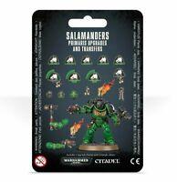 Games Workshop Warhammer 40k Salamanders Primaris Upgrades and Transfers