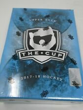 2017-18 UD THE CUP HOCKEY HOBBY SEALED TIN/BOX