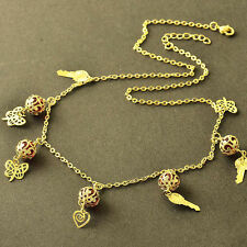 Butterfly Yellow Gold Filled Fashion Necklaces & Pendants