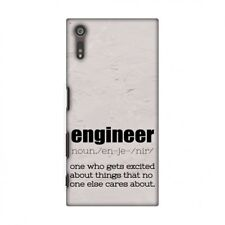 Proud To Be A Engineer 2 HARD Protector Case Snap On Slim Phone Cover Accessory