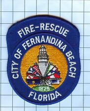 Fire Patch - CITY OF FERNANDINA BEACH