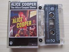 ALICE COOPER 'THE ALICE COOPER SHOW' CASSETTE, 1973 WARNER BROS, GERMAN TAPE.