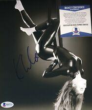 Khloe Kardashian Keeping Up With Signed 8x10 Autographed Photo Beckett COA E1