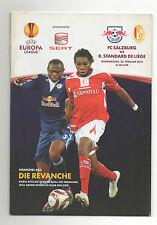 Orig.PRG   Europa League  2009/10   RED BULL SALZBURG - STANDARD LÜTTICH  !!