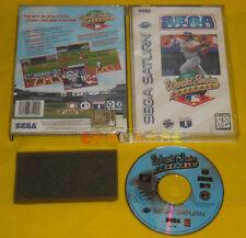 WORLD SERIES BASEBALL Sega Saturn Versione NTSC Americana »»»»» USATO
