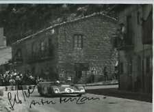MERZARIO & Munari Ferrari 312 PB TARGA FLORIO 1972 firmato fotografia 1
