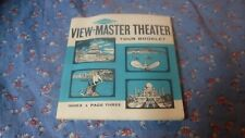 Sawyers View-Master Viewmaster Theater Tour Booklet  48 Pages