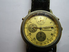y187-8A10 PULSAR CHRONOGRAPH 1992 DATE WATCH FOR YOU TO FIX MINUTE REGISTER