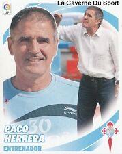 ENTRENADOR PACO HERRERA ESPANA RC.CELTA STICKER CROMO LIGA 2013 PANINI