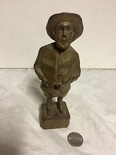 "Authentic Antique American Folk Art Carving ""Old Salt"""