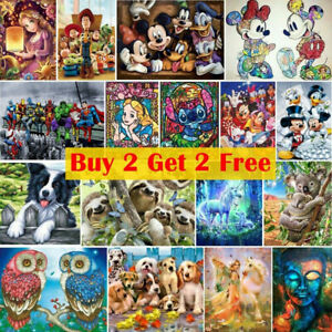 5D Full Drill DIY Diamond Painting Art Embroidery Cross Stitch Mural Home Gift