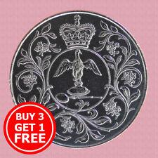 1977 UK Crown Coin - Queen Elizabeth II Silver 25th Jubilee