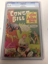 Congo Bill 3 Cgc 2.5 Off White Pages