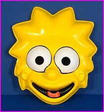 * Lisa Simpson of The Simpsons TV Halloween Costume Mask Ben Cooper 1989 NEW *