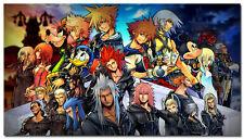 "Kingdom Hearts 2 Boy Game Wall Poster 17/""x13/"" K027"