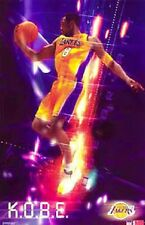 "2003 Kobe Bryant Los Angeles Lakers ""K.O.B.E.""Original Starline Poster OOP"