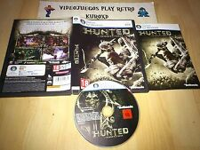 PC HUNTED THE DEMON'S FORGE COMPLETO PAL ESPAÑA