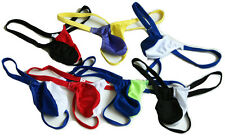5Pcs Men's pouch string mixed color thongs Underwear #452