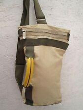 AUTHENTIQUE sac bandoulière  MANDARINA DUCK en cuir vintage bag