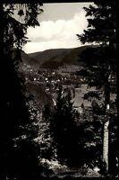 Hirsau Schwarzwald Ansichtskarte 1968 gelaufen Blick vom Wald in das Nagoldtal
