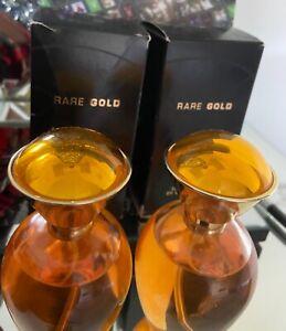 2 x Avon Rare Gold Eau De Parfum 50ml Sealed Discontinued Rare New in Box