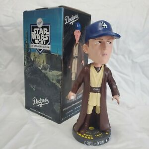 2021 LA Dodgers Orel Hershiser Orel-Wan Kenobi Star Wars Bobblehead 7/21