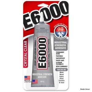 E6000 - 80.4 Gms.-2 Oz. Clear Multi-Purpose Glue