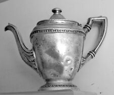 Silver Plate Coffee or Tea Pot THE ROOSEVELT HOTEL New York City