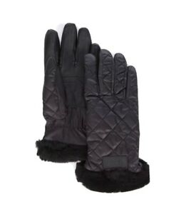 UGG Women's Quilted Performance Gloves SZ S/M