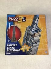 Puzz3d Empire State Building 65 Piece Beginners Puzzles New Unopened