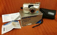 Olympus M(mju)-II ZOOM 170 boxed with instructions good condition