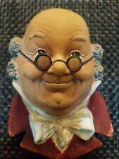 Bossons Head Mr. Pickwick 1964 Vintage England Chalkware #21