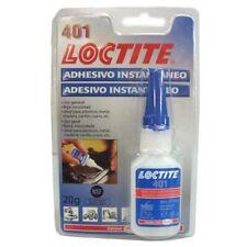 Adhesivo cianocrilato 401 Blister 20gr Loctite