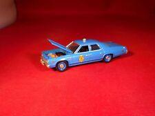 GL 1975 DODGE MONACO KANSAS STATE POLICE DEPARTMENT PATROL CAR LIMITED ED!
