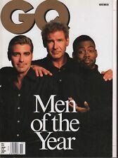 GQ Revista Noviembre 1998 Harrison Ford George Clooney 081518DBE