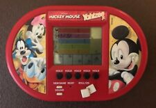 MICKEY MOUSE Yahtzee Jr Electronic Handheld Travel Game Pocket Size