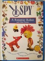 I Spy - A Runaway Robot and Other Stories (DVD, 2003) - Combine Shipping & SAVE!