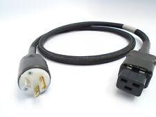 Dyson Audio True 20A AC Mains 10AWG Audiophile Power Cable C19 NEMA 5-20P 1.5M
