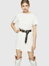 D-YLY Cotton T-shirt dress with tape detail 190$ Size S