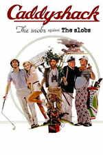 CADDYSHACK Movie Promo POSTER C Chevy Chase Rodney Dangerfield Ted Ted Knigt