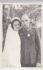 (F1047+) Orig. Foto Wehrmacht-Soldat, Hochzeit, 1940er
