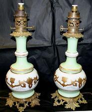 Superbe paire de lampes Napoléon III Pair of Napoleon III lamps