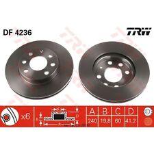 Bremsscheibe, 1 Stück TRW DF4236