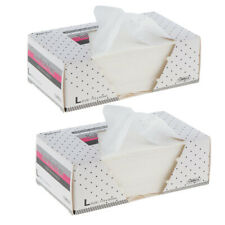 2000pcs Absorbent Hot&Cold Hair Perming End Wraps Disposable Perm Paper Sheets